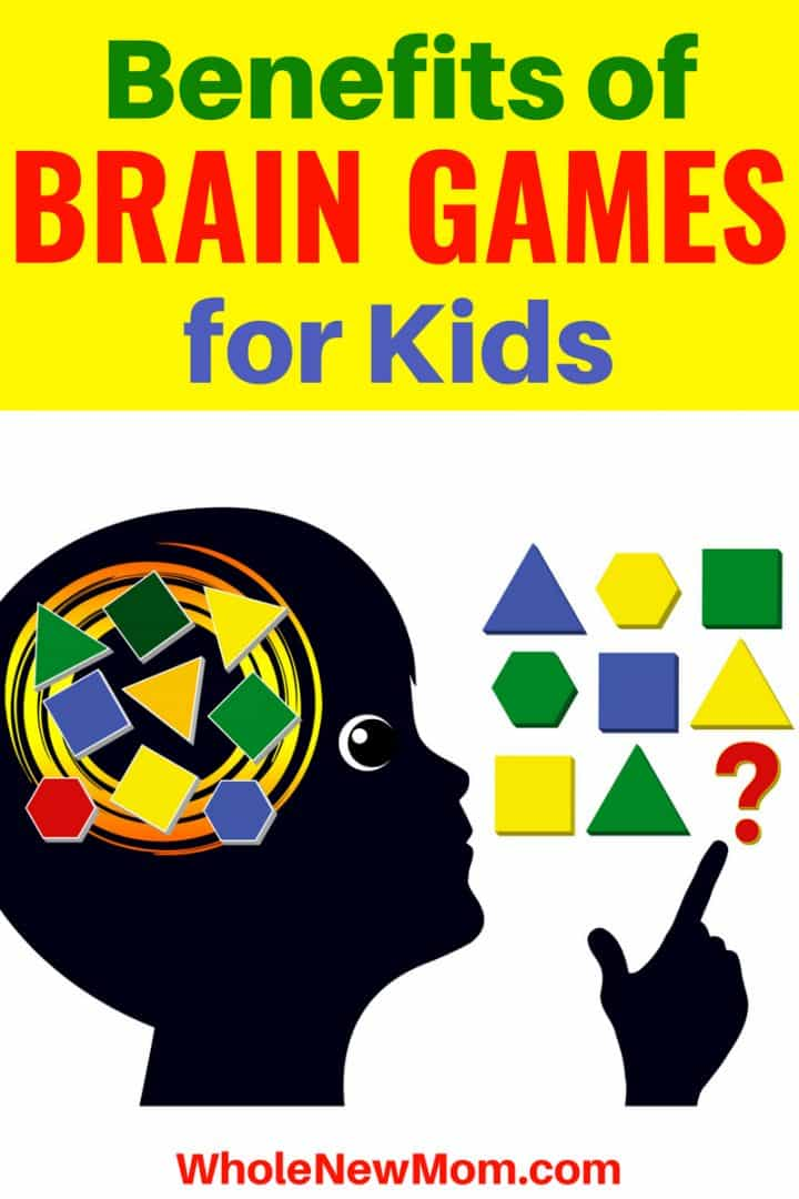 Brain Games for Kids - Child Trying to Solve a Puzzle