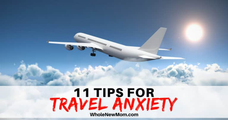 Travel Anxiety Tips - airplane flying