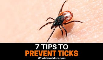 tick on skin for tick prevention