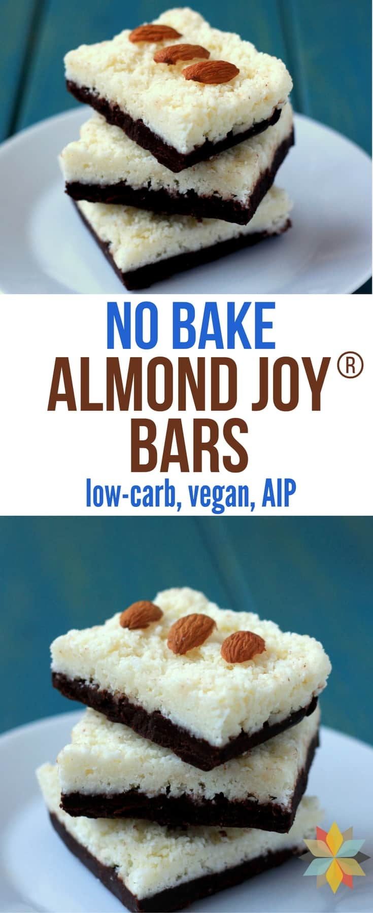 no bake almond joy® bars