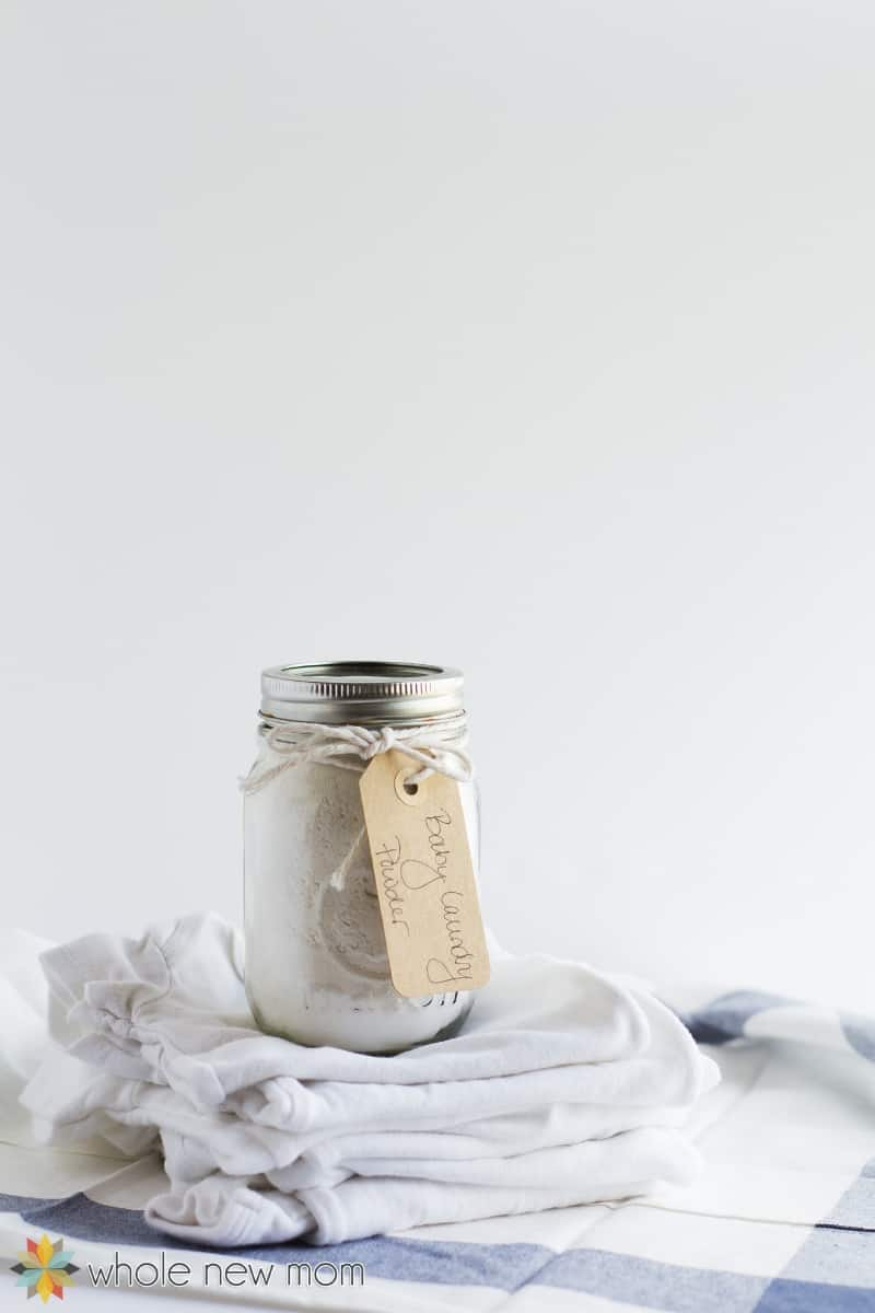 homemade baby laundry detergent