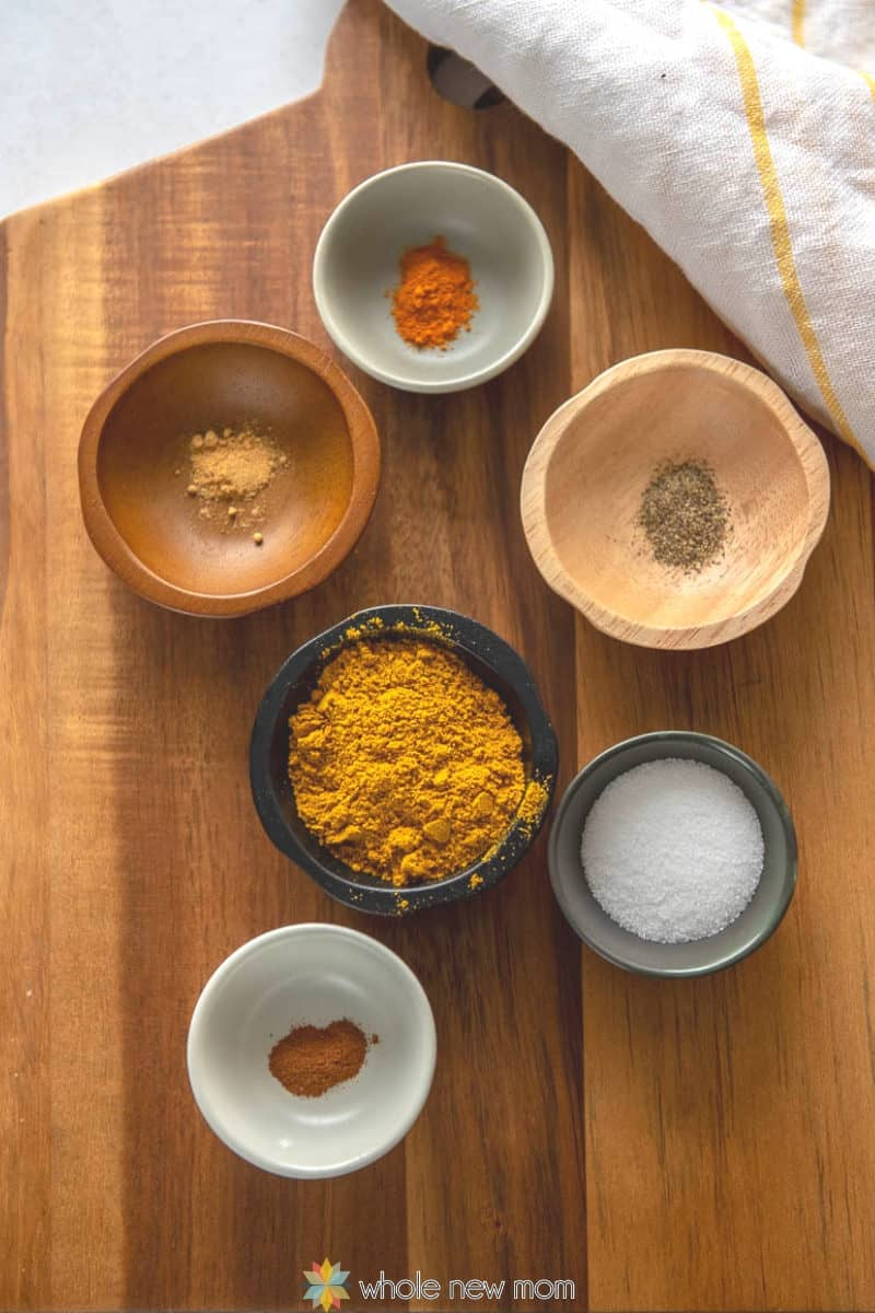 spices for ground beef curry (pakistani kima)