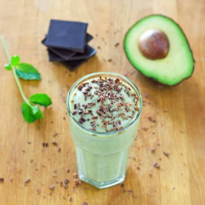 Healthy Shamrock Shake Recipe - Dairy Free