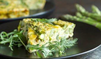Crustless Caramelized Quiche