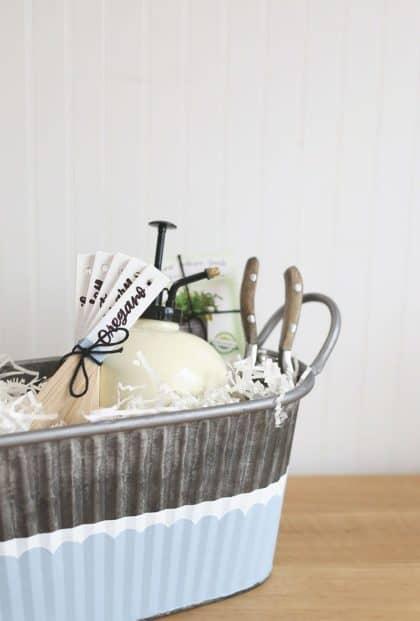 DIY Gardening Gift Basket
