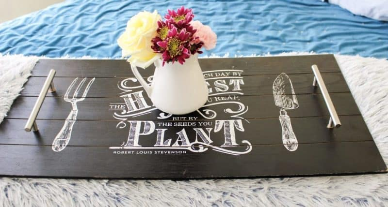 DIY Serving Tray