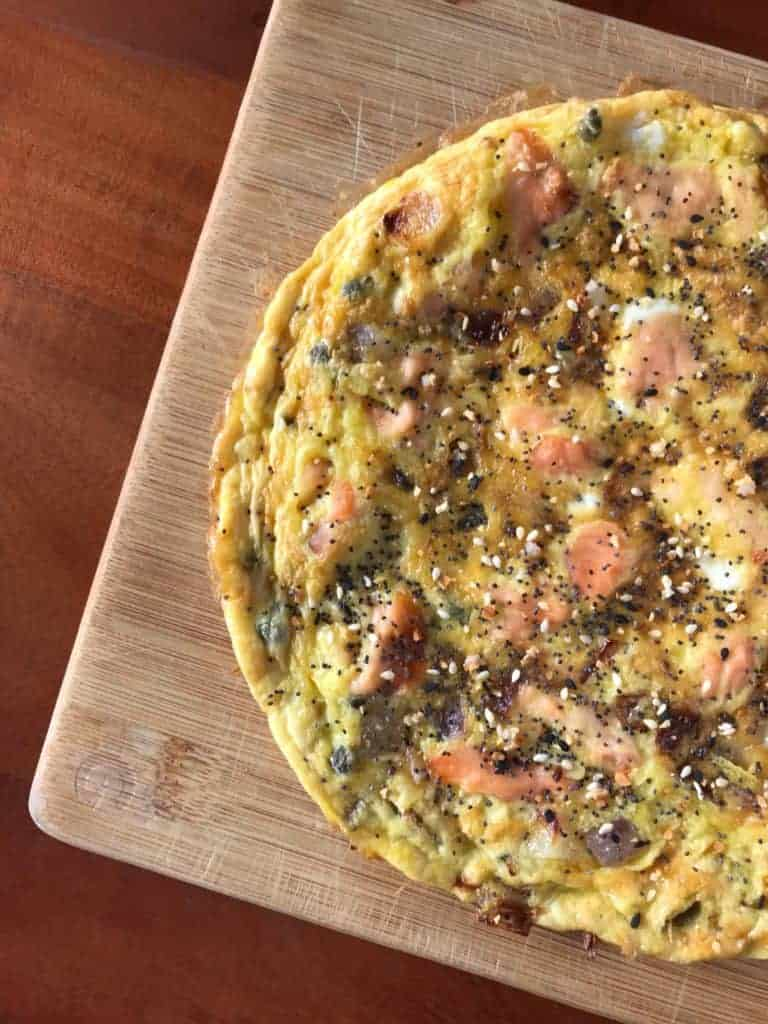 Everything Bagel Frittata