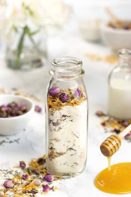 Milk and Honey Floral Bath Soak
