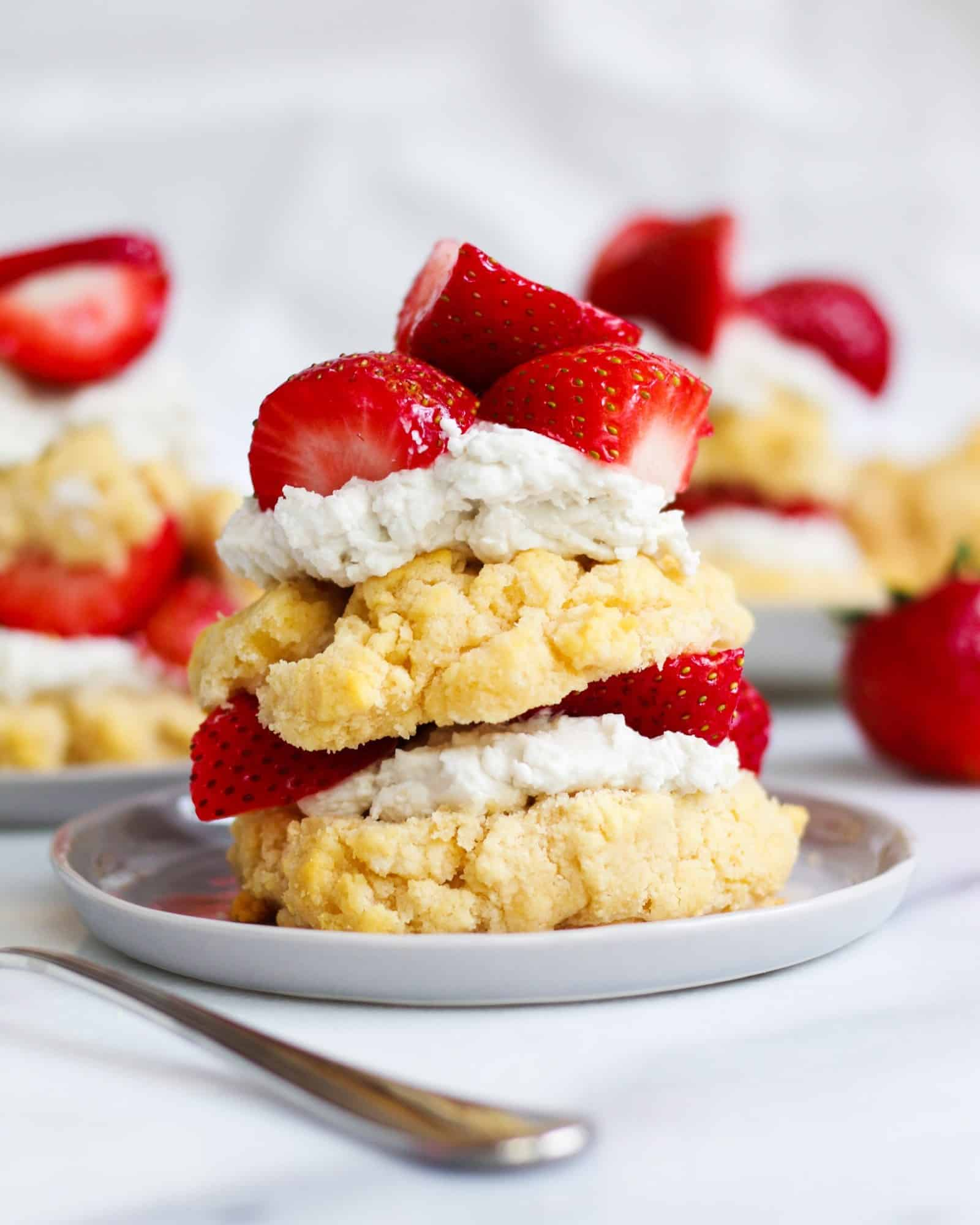 Paleo Strawberry Shortcake