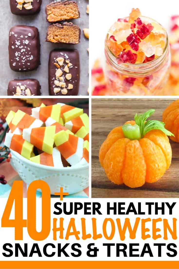 healthy halloween snacks and treats