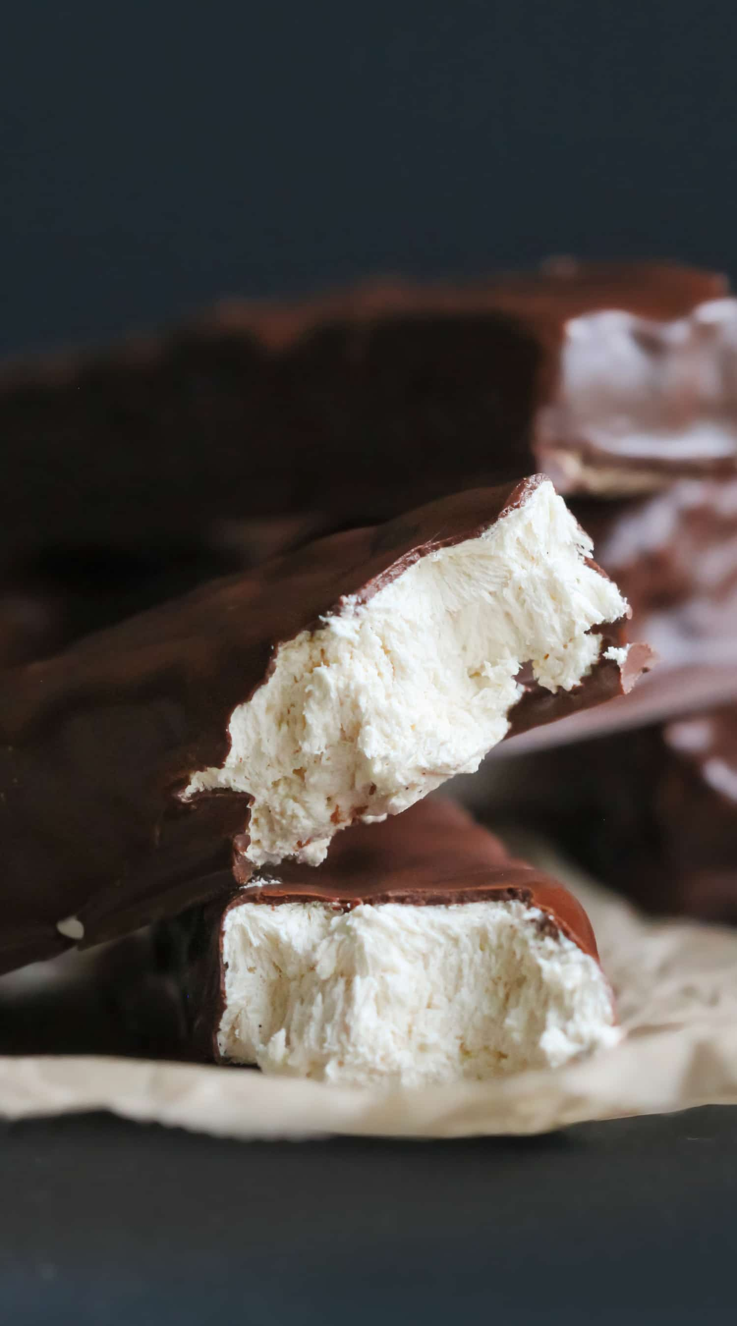 Healthy Nougat Candy Bars
