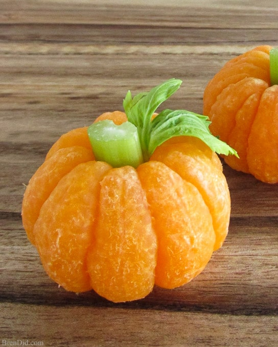 How to Make a Tangerine Pumpkin