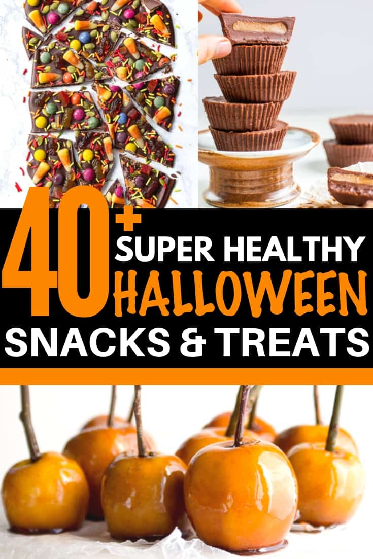 healthy halloween treats and snacks