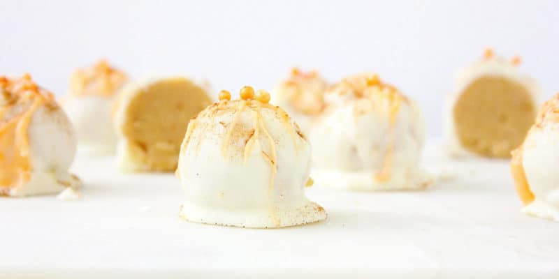 Healthy pumpkin truffles - low-carb, vegan, keto