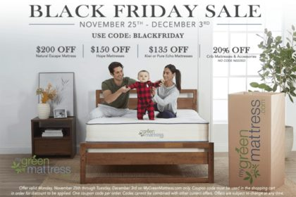 my green mattress Black Friday Sale