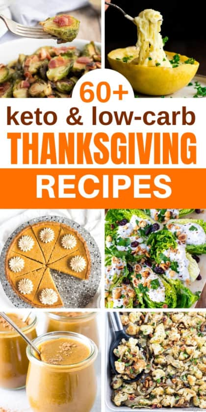 low-carb and keto Thanksgiving Recipes