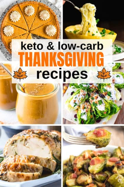 keto and low-carb Thanksgiving Recipes