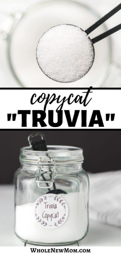 diy truvia copycat sugar substitute
