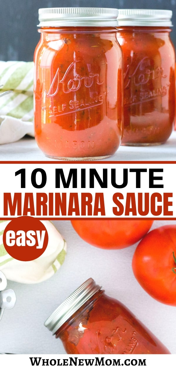 homemade easy marinara sauce
