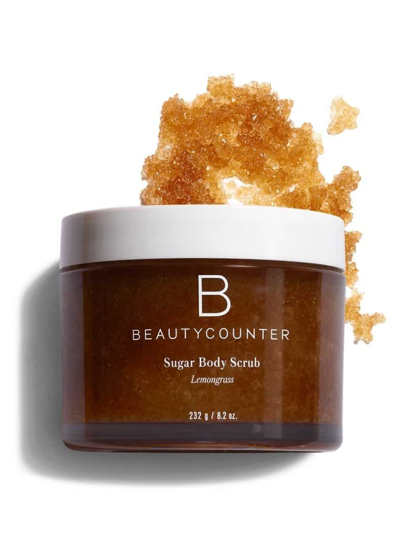 beautycounter lemongrass scrub