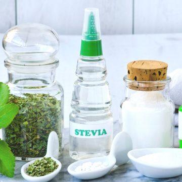 stevia leaf, tablets, powder, and liquid stevia