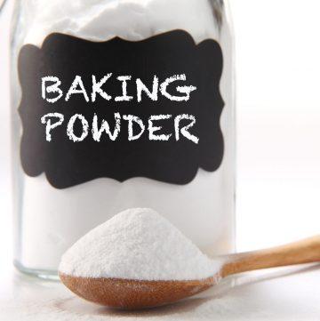 spoonful of baking powder