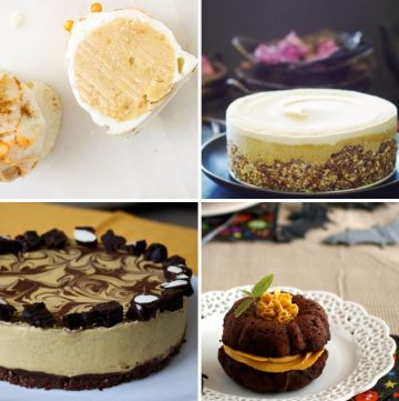 collage of four different pumpkin recipes
