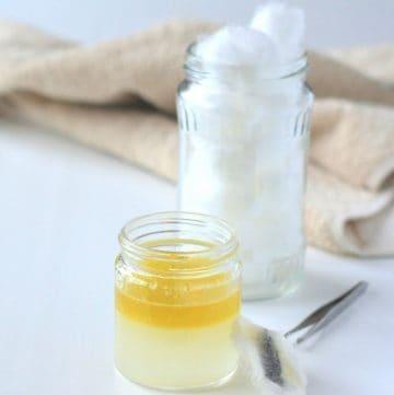 jar of make up remover