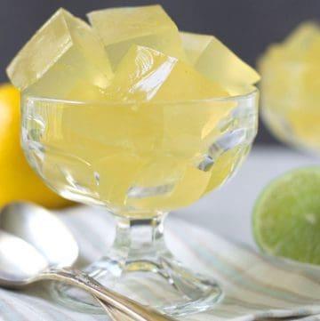 jello in dessert glass